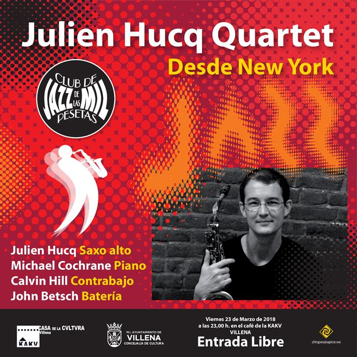 Julien Hucq Quartet